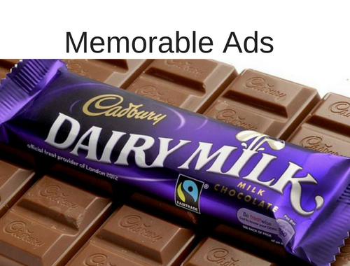 memorable adverts