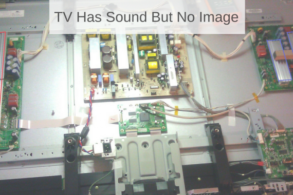 TV Has Sound But No Image